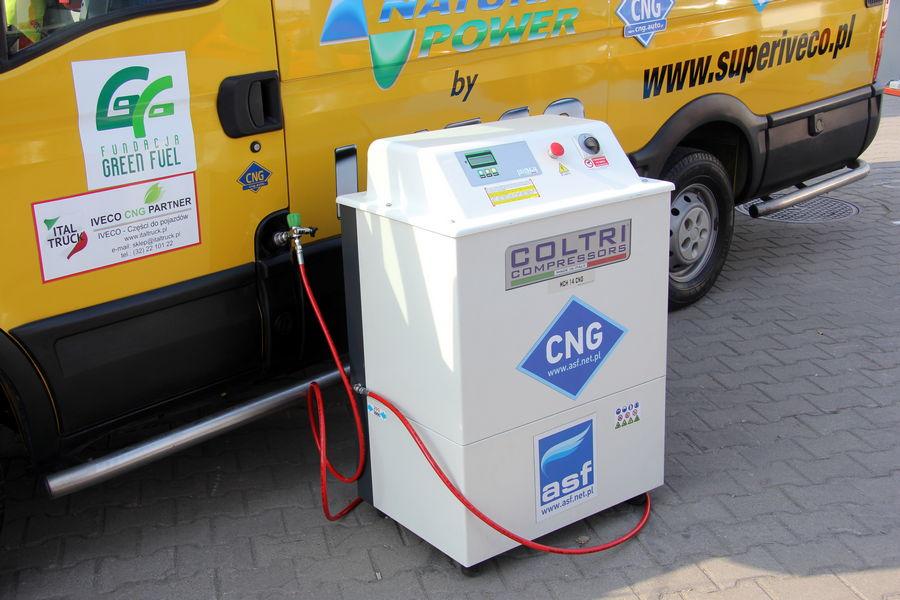 Kompresor CNG Coltri MCH-10-14/ET CNG