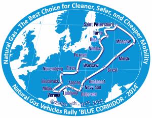 'STREFA METANU', Międzynarodowa Konferencja NGV 'Metan dla Motoryzacji', EXPO Pojazdów NGV, Przejazd Międzynarodowego Rajdu Blue Corridor 2014