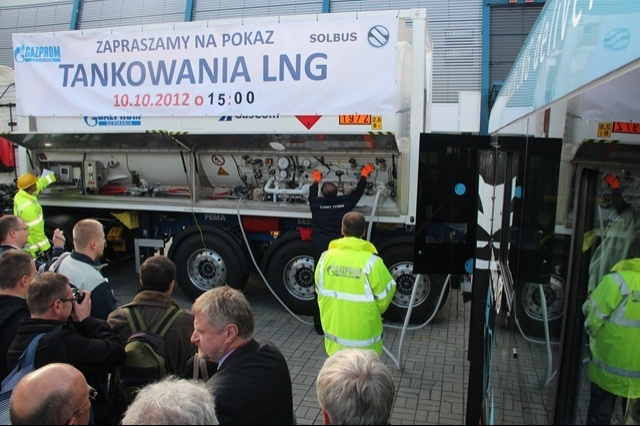 TRANSEXPO 2012 Solbus prezentuje nowe autobusy CNG i LNG