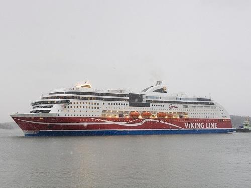 LNG PROM. Pierwszy prom pasażerski na gaz LNG wyruszył w rejs po Bałtyku