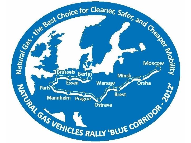 Blue Corridor 2012 Start Rajdu Pojazdów CNG/LNG w Moskwie, trwają przygotowania w Polsce