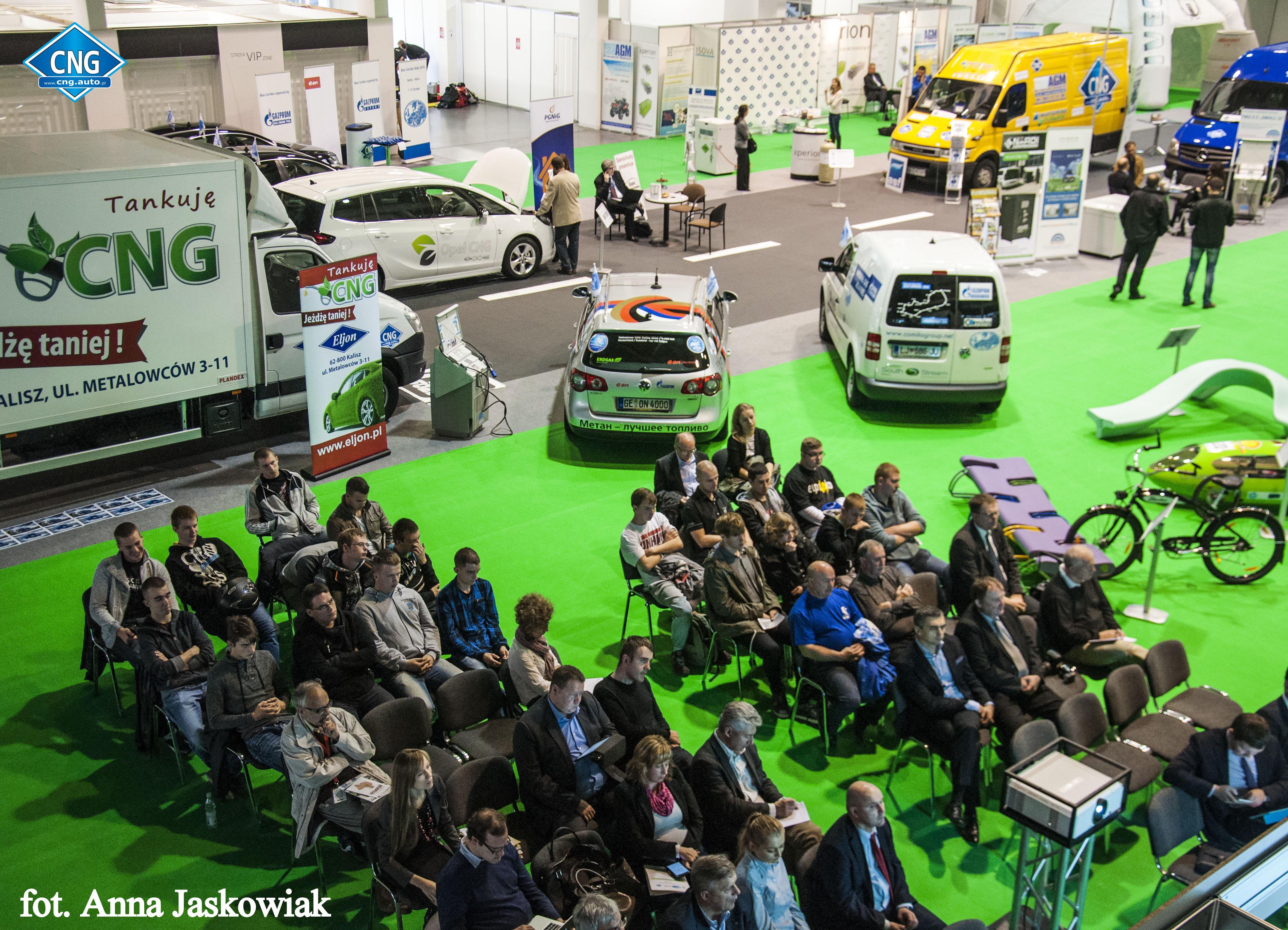 Fundacja Green Fuel oraz portal cng.auto.pl organizatorami międzynarodowych wydarzeń branży CNG/LNG w Polsce.