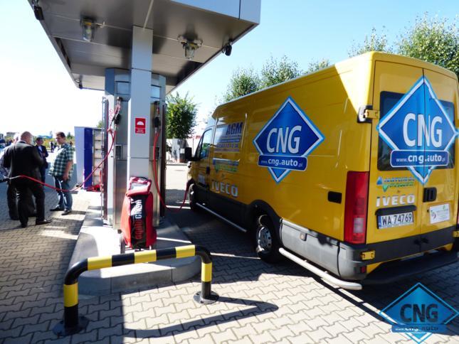 Relacja z uroczystego Otwarcia Ogólnodostępnej Stacji CNG w Kaliszu.