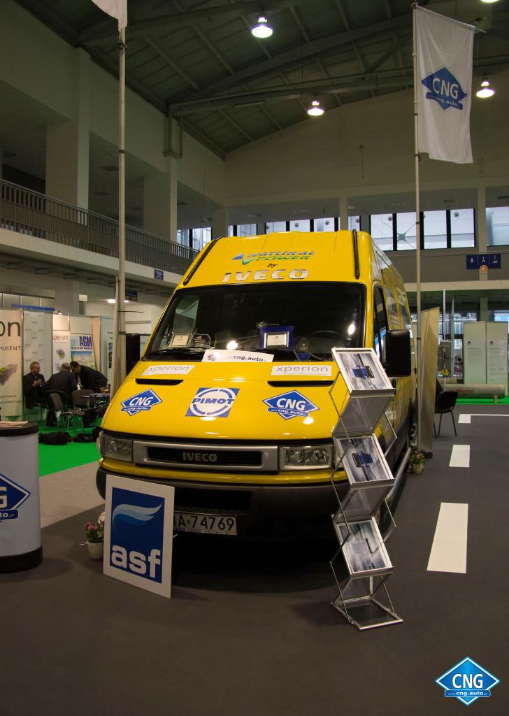 Superiveco.pl wystawa pojazdów CNG