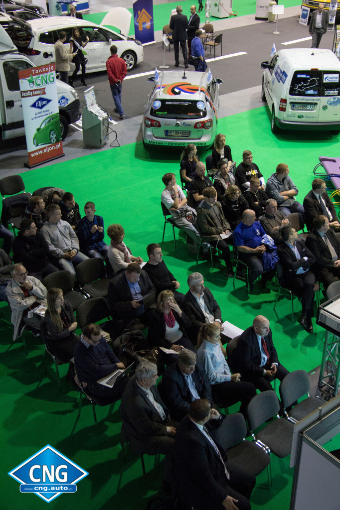 Strefa Metanu w Miasteczku Ekologicznym Poleko 2014. Konferencja Metan dla Motoryzacji.