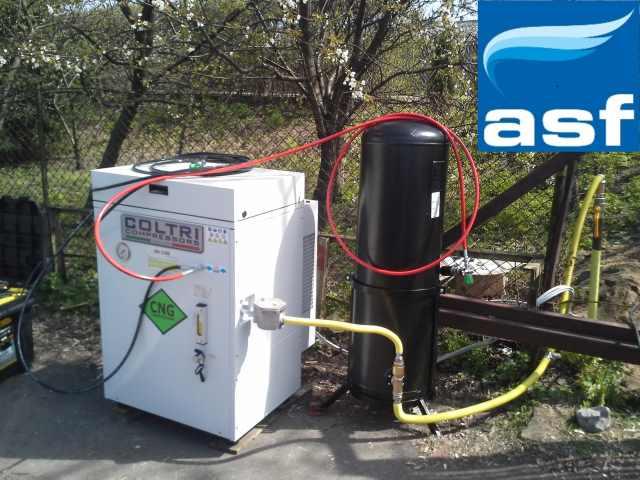 ASF liderem w sprzedaży i serwisie sprężarek CNG