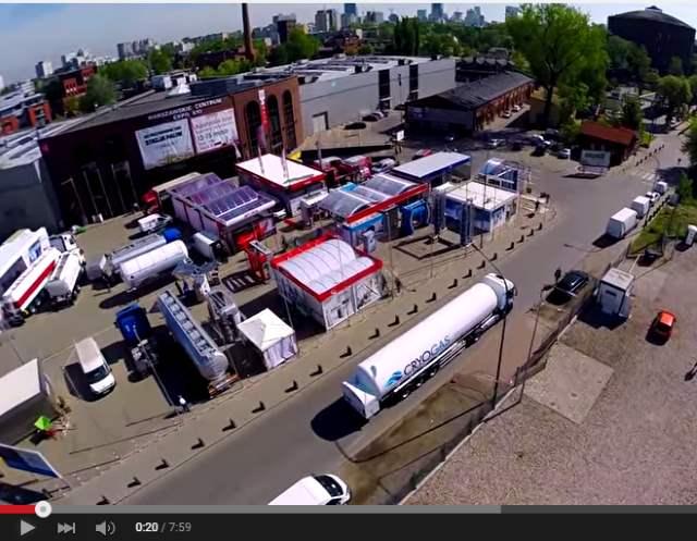 Relacja filmowa ze Strefy Metanu Targi Stacja Paliw 2015
