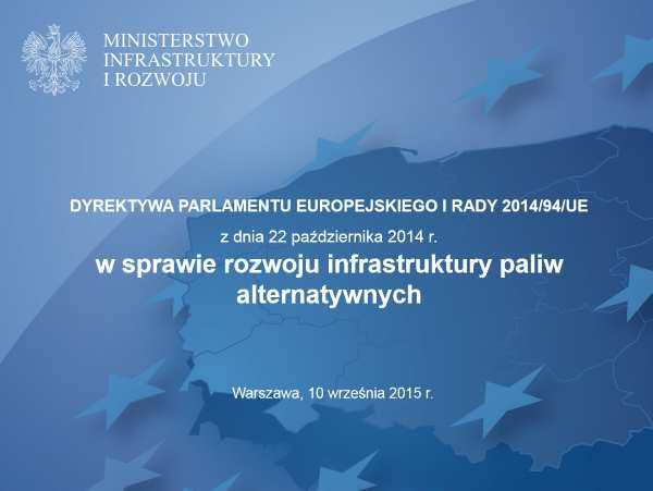 Ministerstwo Infrastuktury i Rozwoju