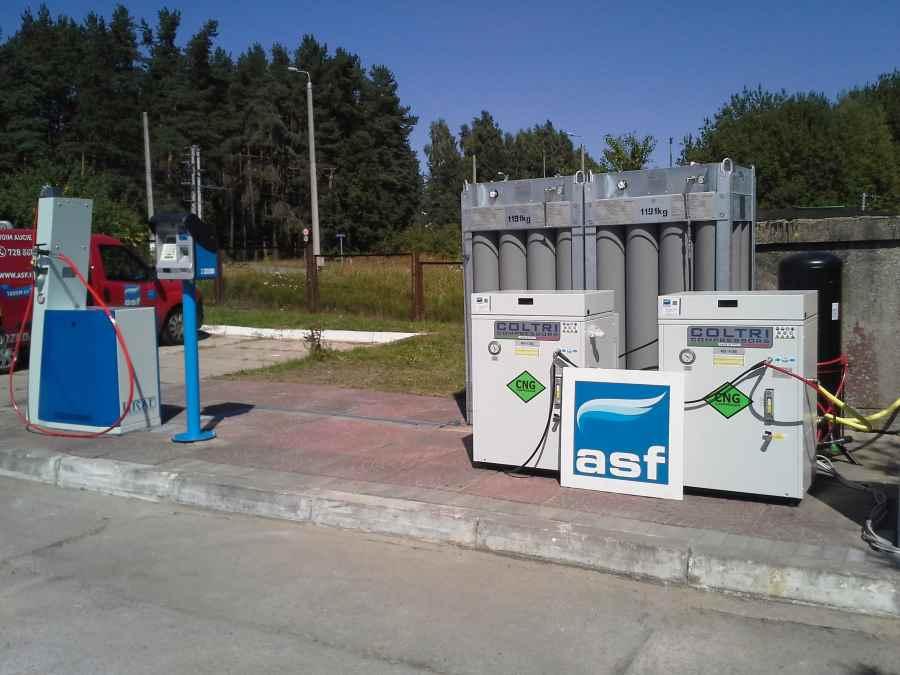 stacja CNG spreżarka