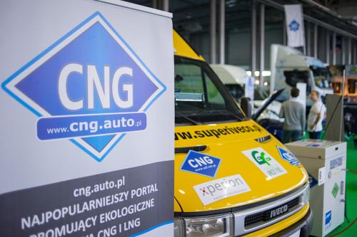 'Strefa Metanu' Największa Międzynarodowa Wystawa CNG, LNG, BIOMETAN Targi GasShow 2016