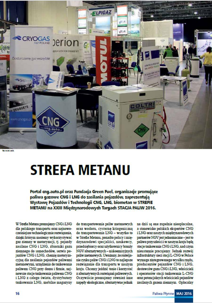 Strefa Metanu w Magazynie Rynku Paliwowego Paliwa Płynne