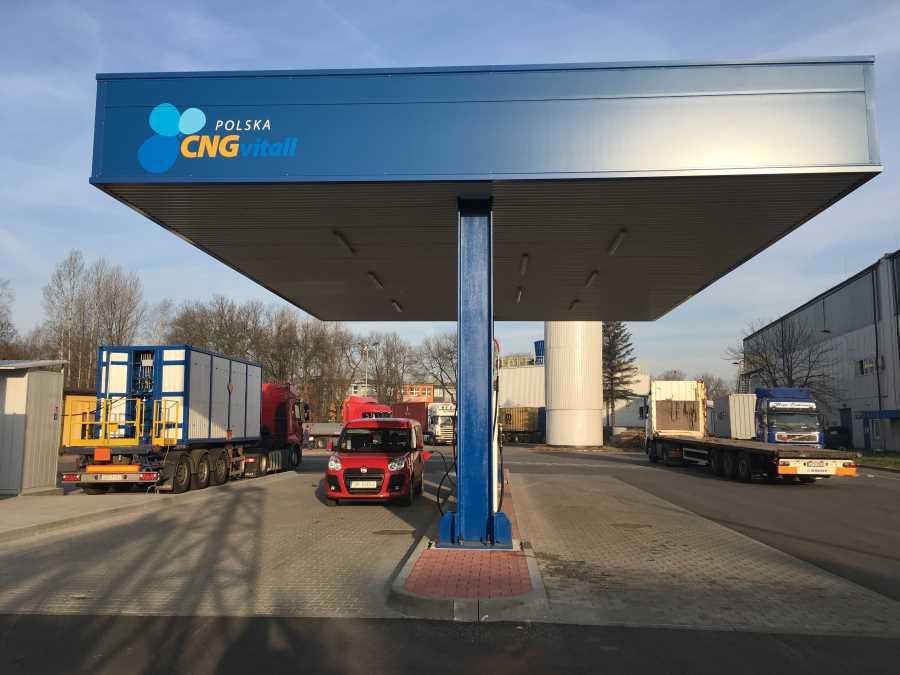 Stacja CNG w Sosnowcu – Uroczyste otwarcie 13 września 2017