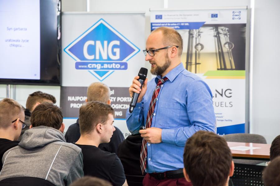 'Strefa Metanu' Międzynarodowa Wystawa Pojazdów i Technologii CNG, LNG, Biometan