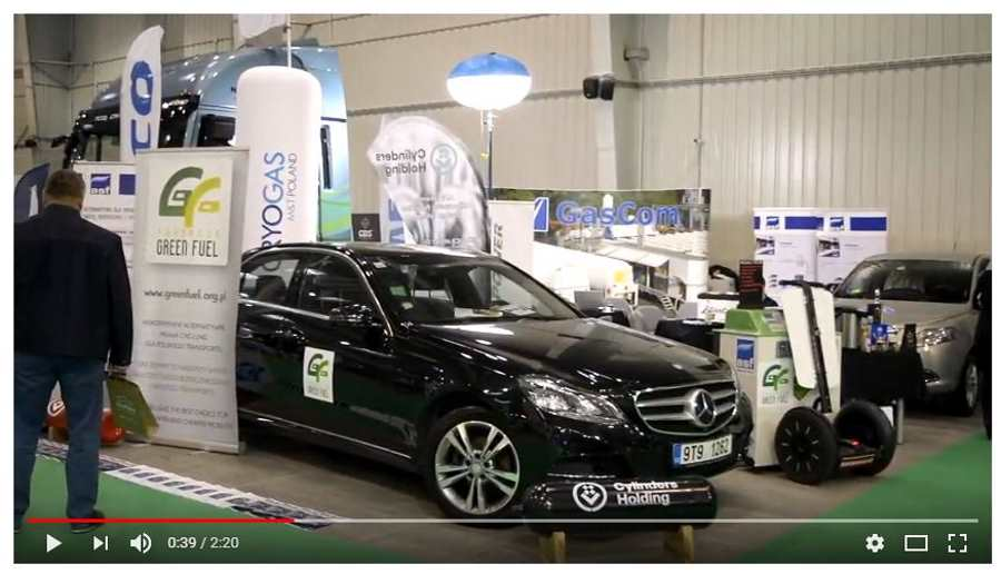 Najbardziej Ekologiczna Wystawa samochodów CNG i LNG 'Strefa Metanu' zakończona sukcesem!