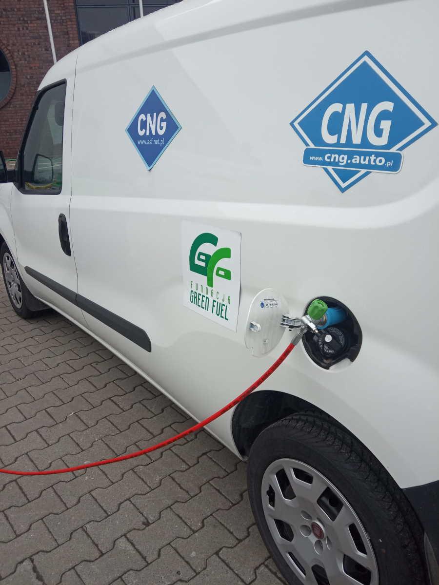 CNG paliwo Akcyza 0 zł